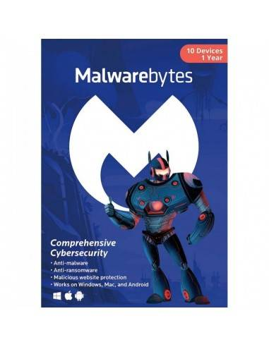 Malwarebytes Anti-Malware Premium for 10 Devices Download (1 Year)