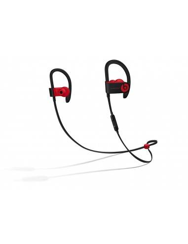 Beats by Dr. Dre Powerbeats3 Wireless Earphones Decade Collection Defiant Black & Red)