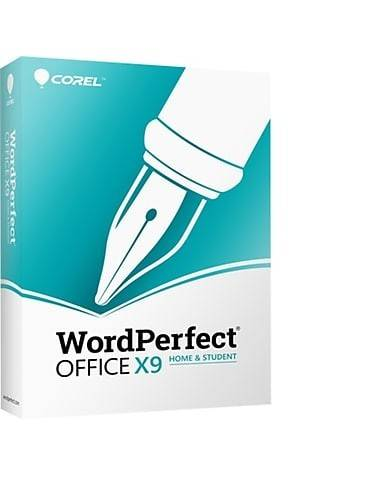 Corel WordPerfect Office X9 Home & Student (Download)