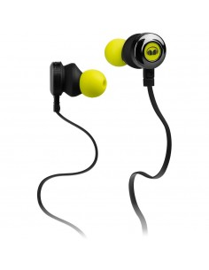 Monster Clarity HD High Definition Noise Isolating In-Ear Headphones (Neon Green)