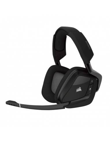 Corsair Void Pro RGB Wireless Gaming Headset with 7.1 Dolby Surround Sound (Black)