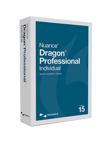 Nuance Dragon Professional Individual 15.0 (Retail Box) French