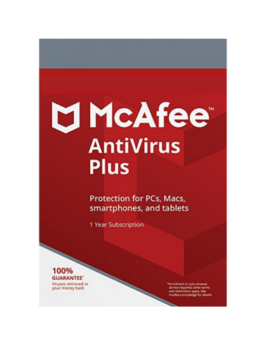 McAfee AntiVirus Plus for 1 Device...