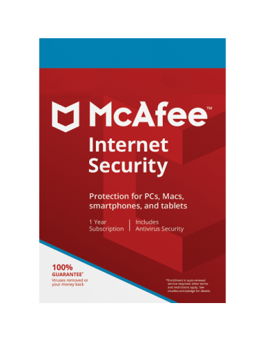McAfee Internet Security for 3 Device...