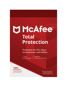 McAfee Total Protection for 1 Device Download (1 Year)