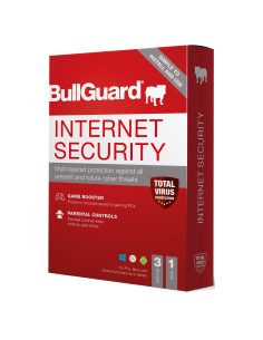 Bullguard Internet Security for 3 PC Download (1 Year)